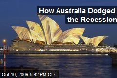 How Australia Dodged the Recession