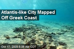 Atlantis-like City Mapped Off Greek Coast