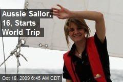 Aussie Sailor, 16, Starts World Trip