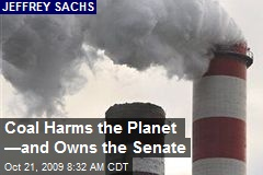 Coal Harms the Planet —and Owns the Senate
