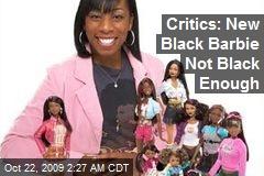 Critics: New Black Barbie Not Black Enough