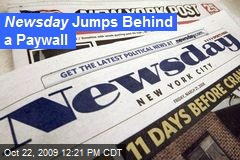 Newsday Jumps Behind a Paywall
