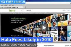 Hulu Fees Likely in 2010