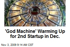 'God Machine' Warming Up for 2nd Startup in Dec.