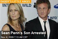 Sean Penn's Son Arrested