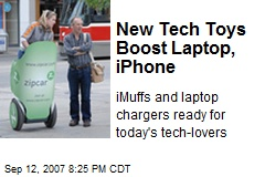New Tech Toys Boost Laptop, iPhone