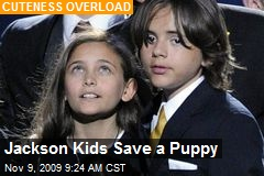 Jackson Kids Save a Puppy