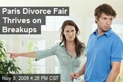 Paris Divorce Fair Thrives on Breakups