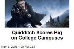 Quidditch Scores Big on College Campuses