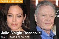 Jolie, Voight Reconcile