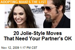 20 Jolie-Style Moves That Need Your Partner's OK