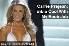 Carrie Prejean: Bible Cool With My Boob Job