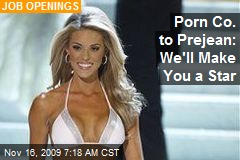 Porn Co. to Prejean: We'll Make You a Star