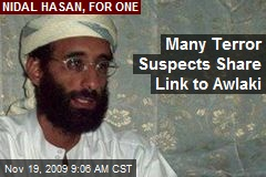 Many Terror Suspects Share Link to Awlaki