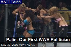 Palin: Our First WWE Politician