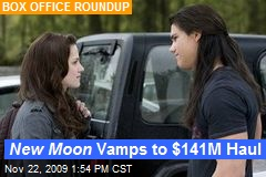 New Moon Vamps to $141M Haul