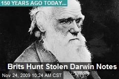 Brits Hunt Stolen Darwin Notes