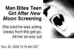 Man Bites Teen Girl After New Moon Screening