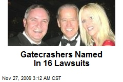 Gatecrashers Named In 16 Lawsuits