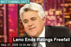 Leno Ends Ratings Freefall