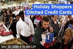 Holiday Shoppers Ditched Credit Cards