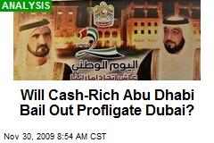 Will Cash-Rich Abu Dhabi Bail Out Profligate Dubai?