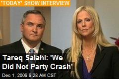 Tareq Salahi: 'We Did Not Party Crash'