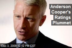 Anderson Cooper's Ratings Plummet