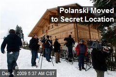 Polanski Moved to Secret Location