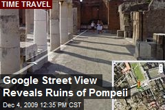 Google Street View Reveals Ruins of Pompeii