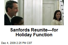 Sanfords Reunite—for Holiday Function