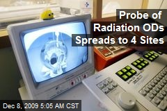 Probe of Radiation ODs Spreads to 4 Sites