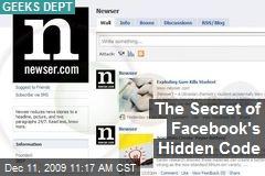 The Secret of Facebook's Hidden Code