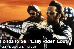 Fonda to Sell 'Easy Rider' Loot