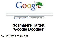 Scammers Target 'Google Doodles'