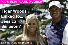 Tiger Woods Linked to... Jessica Simpson?