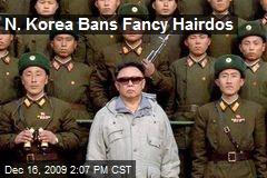 N. Korea Bans Fancy Hairdos
