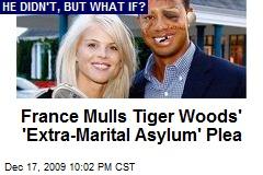 France Mulls Tiger Woods' 'Extra-Marital Asylum' Plea