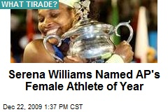 Serena Williams Named AP's Female Athlete of Year