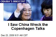 I Saw China Wreck the Copenhagen Talks