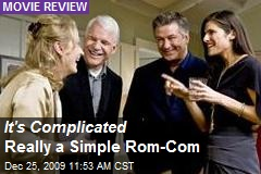 It's Complicated Really a Simple Rom-Com