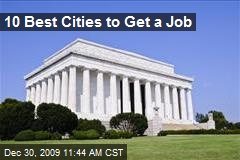 10 Best Cities to Get a Job