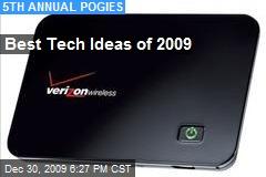 Best Tech Ideas of 2009