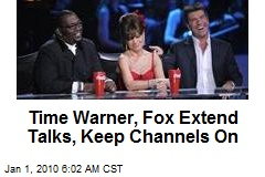 Time Warner, Fox Extend Talks, Keep Channels On