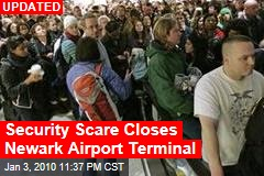 Security Scare Closes Newark Airport Terminal