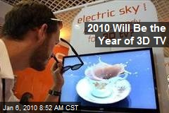 2010 Will Be the Year of 3D TV
