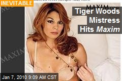 Tiger Woods Mistress Hits Maxim