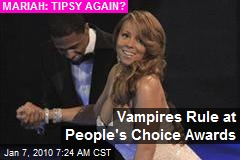Vampires Rule at People's Choice Awards