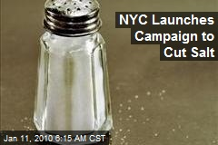 NYC Launches Campaign to Cut Salt