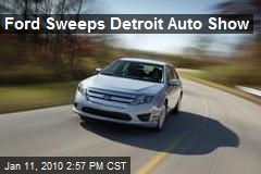 Ford Sweeps Detroit Auto Show